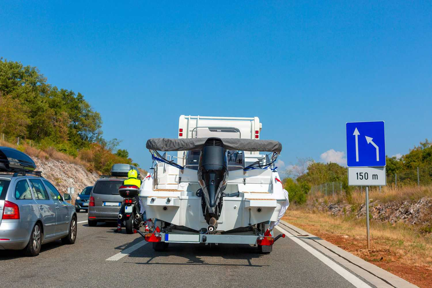 Can You Tow A Boat Behind Travel Trailer