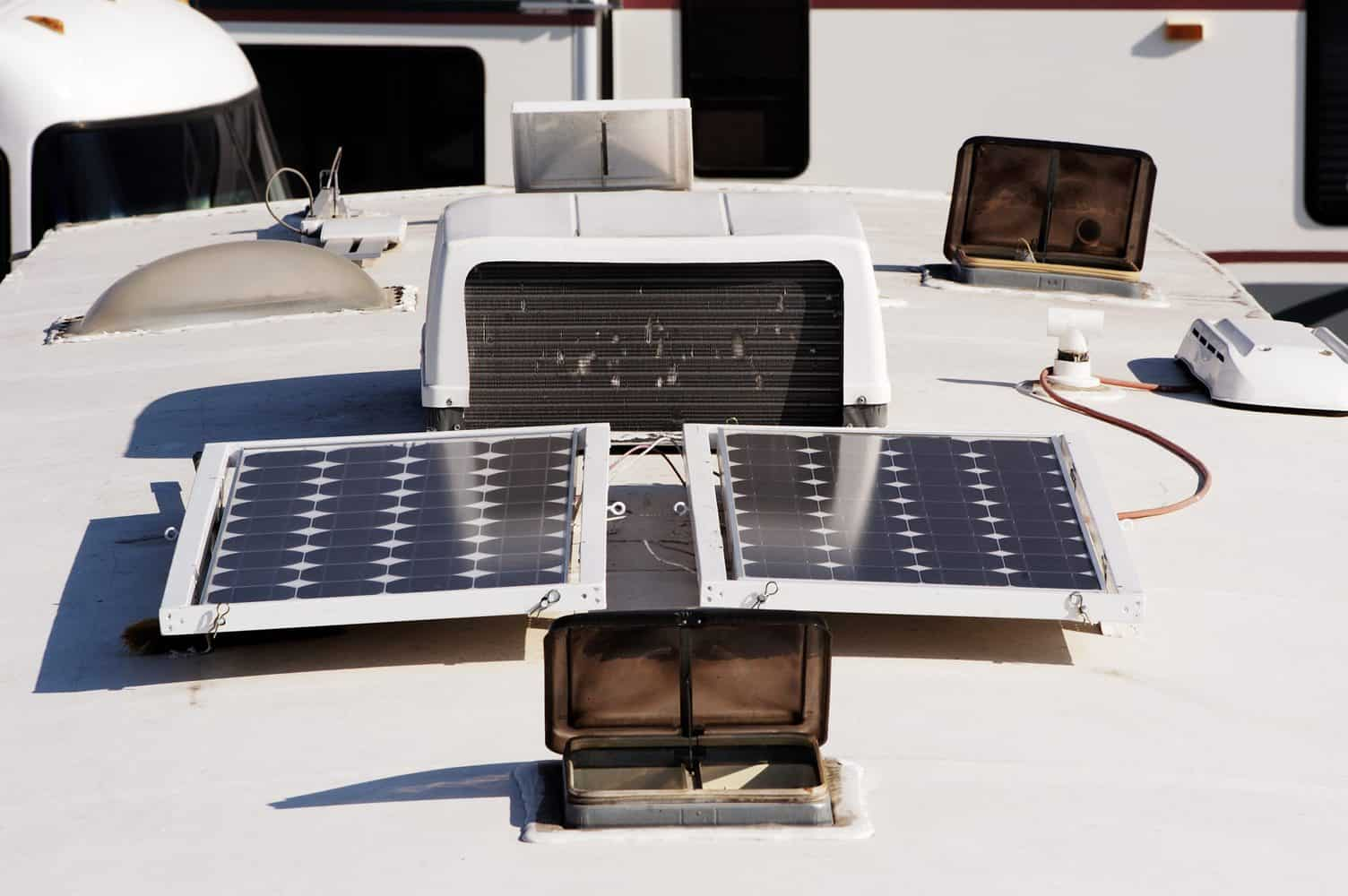Best Solar Panels For RV's And Camping