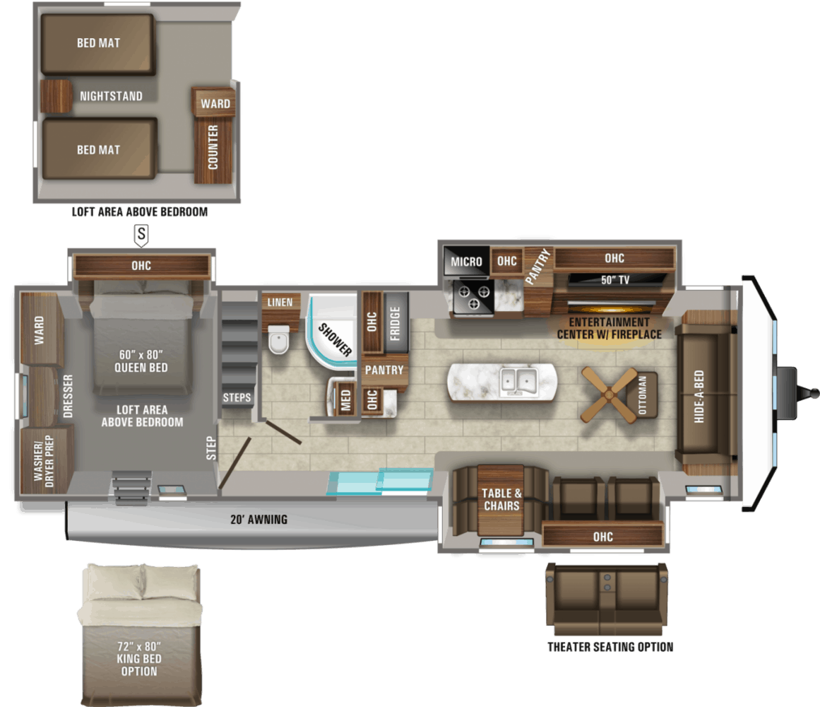 2021 Jayco Jay Flight Bungalow 40LOFT